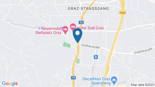 Meyers Gasthof Fam. Orthacker Map