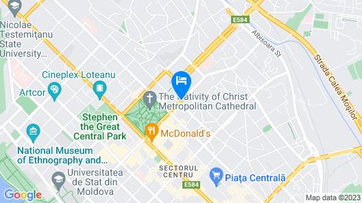 Prestige Apart Hotel Map