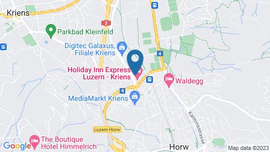 Holiday Inn Express Luzern - Kriens Map