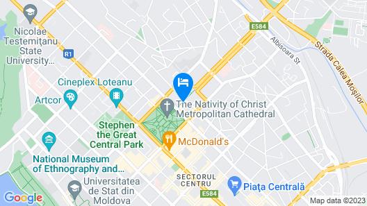 City Park Hotel Map