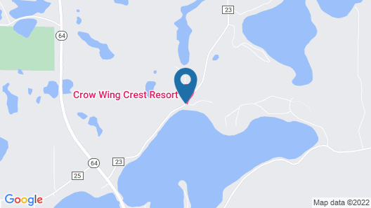 Crow Wing Crest Resort Map
