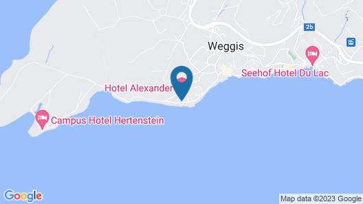 Hotel Alexander Map