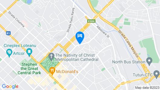 Komilfo Hotel Map