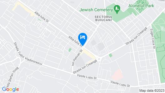Aria Hotel Chisinau Map