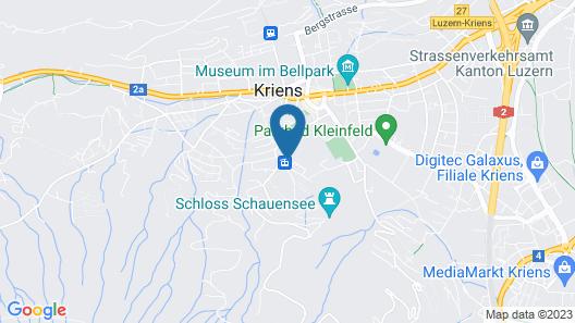 Pilatus Kulm Hotels Map
