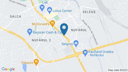 Penthouse Apartament Nufărul Oradea Map