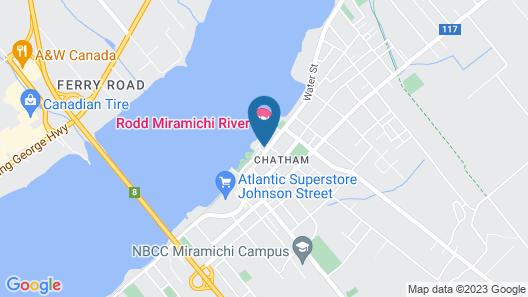Rodd Miramichi Map