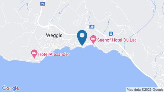 Post Hotel Weggis Map
