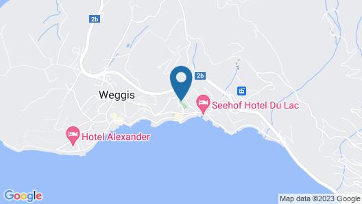 Hotel Albana Weggis Map