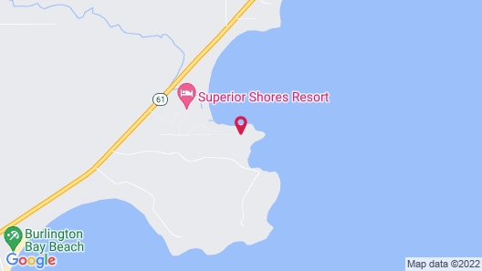 Superior Shores Resort & Conference Center Map