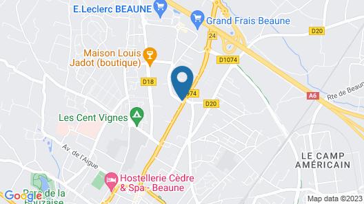 Maison Cabotte Map