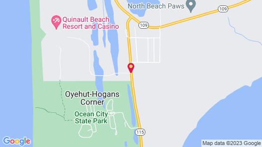 Quinault Beach Resort Map