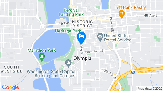 TownePlace Suites Olympia Map