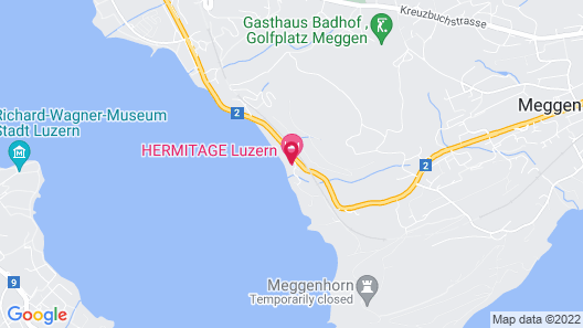 Seehotel Hermitage Map