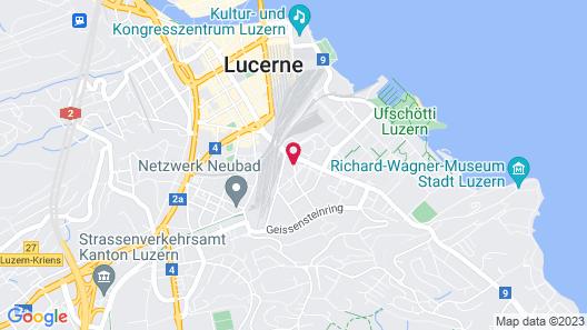 ibis budget Luzern City Map