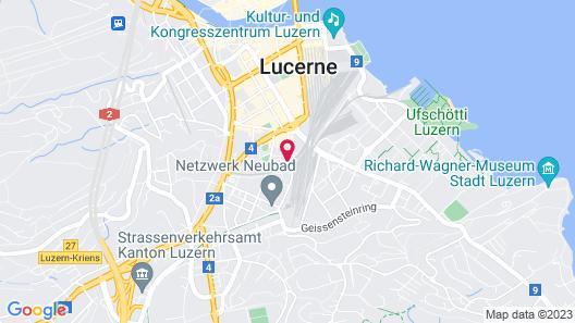 VISIONAPARTMENTS Lucerne Neustadtstrasse Map