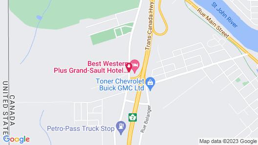 Best Western Plus Grand-Sault Hotel & Suites Map