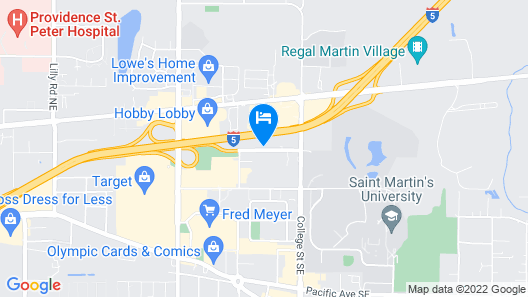 Holiday Inn Express Hotel & Suites Lacey, an IHG Hotel Map