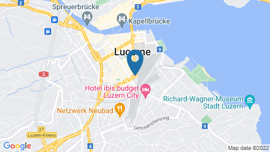 Cascada Boutique Hotel Map