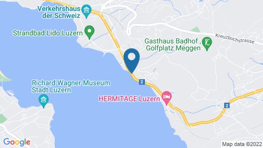 Seeburg Swiss Quality Hotel Map