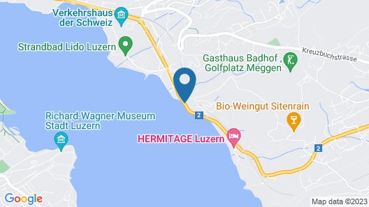 Seeburg Hotel Map