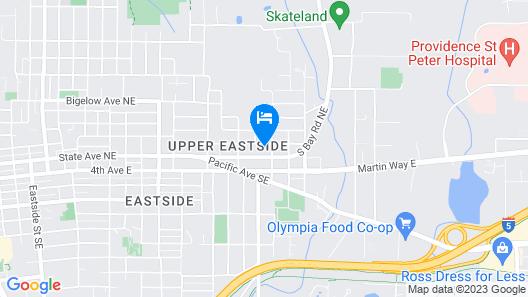Upper Eastside Comfort Map