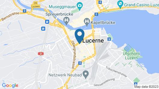 Astoria Lucerne Map