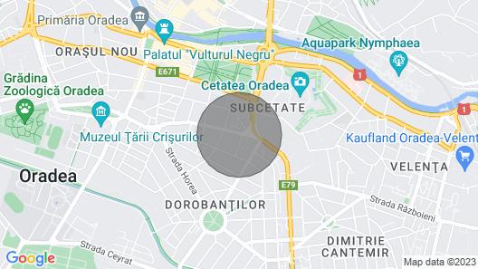 Highsky Oradea Apartment Map