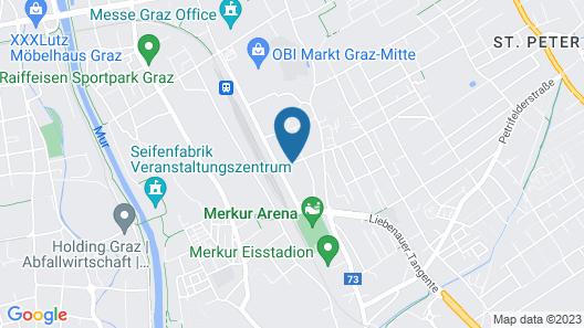 AMEDIA Luxury Suites Map