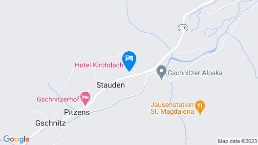 Landhotel Kirchdach Map