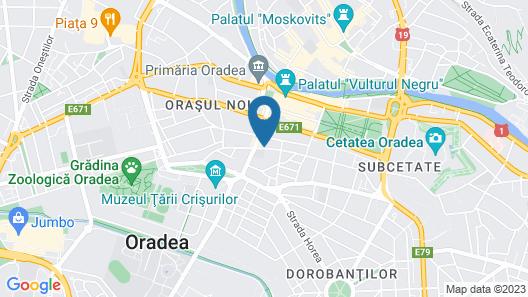 Caro Boutique Hotel Map