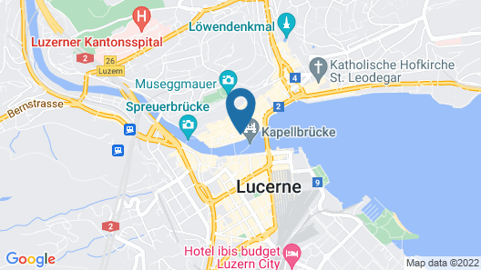 Boutique Hotel Weisses Kreuz Map