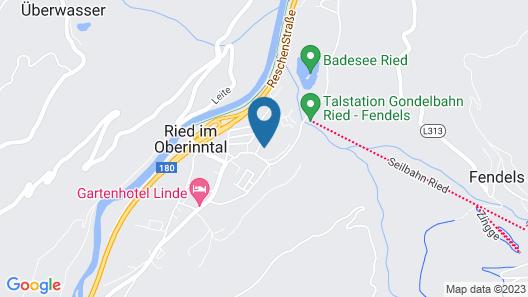 Camping Dreiländereck Map