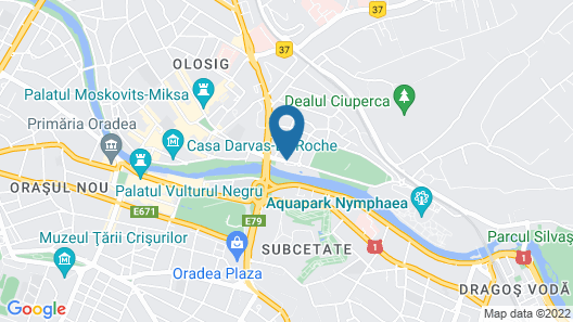 Continental Forum Oradea Map