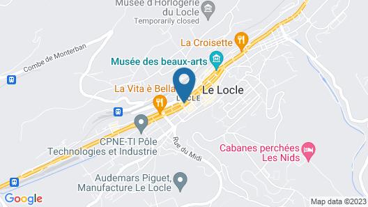 Hôtel des Trois Rois Map