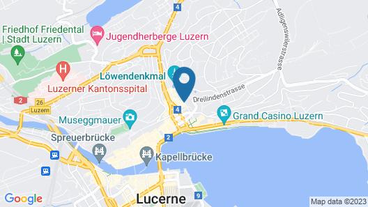 ibis Styles Luzern Map