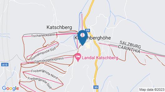 Falkensteiner Hotel Cristallo Map