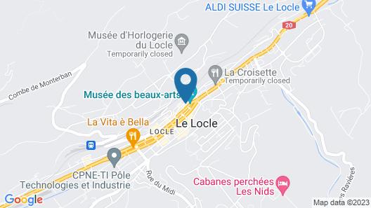 Hotel Fleur de Lis Map
