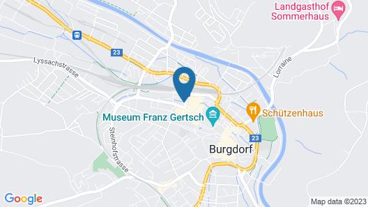 Hotel Berchtold Map