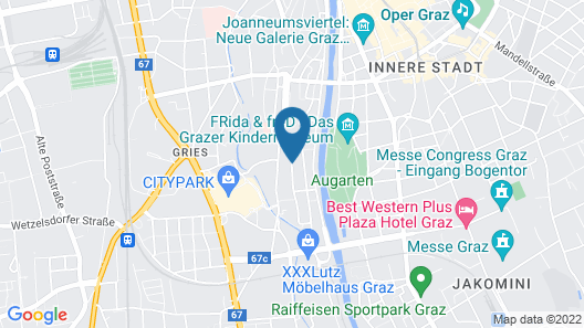 Altstadthaus Cityappartements Map
