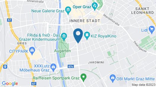 Hauptplatz Graz Suite by Paymán Club Map