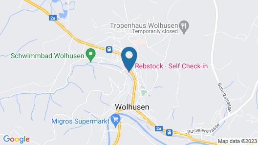 Hotel Rebstock by b_smart Map