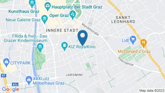 Haus Mobene - Hotel Garni Map