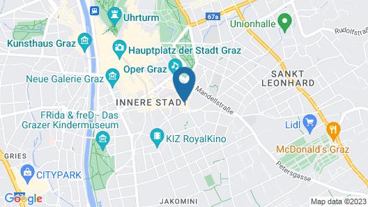 Hotel Gollner Map