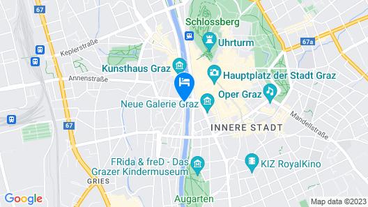 Hotel Weitzer Graz Map