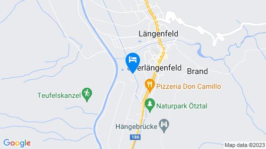 AQUA DOME - Tirol Therme Längenfeld Map