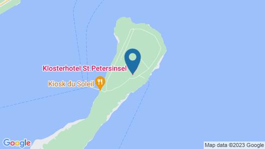 Hotel St. Petersinsel Map
