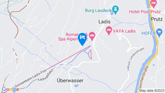 Alpensonne Anna-Lena Map