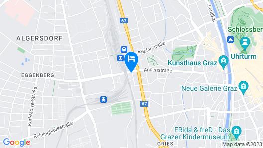 IntercityHotel Graz Map