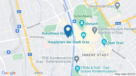 Cozy Kunsthaus Graz by Welcome2Vienna Map